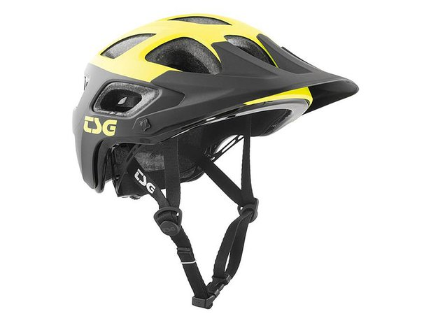 "TSG ""Seek Graphic Design"" Helm - Block Acid Yellow-Black"