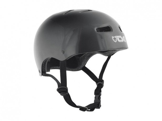 "TSG ""Skate/BMX Solid Colors"" Helmet - Injected Black"