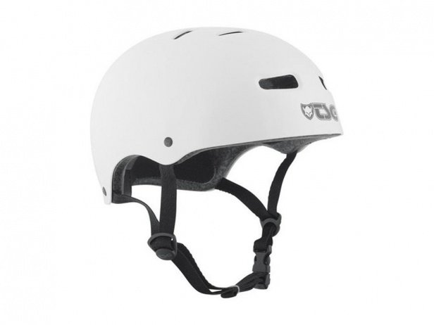 "TSG ""Skate/BMX Solid Colors"" Helmet - Injected White"