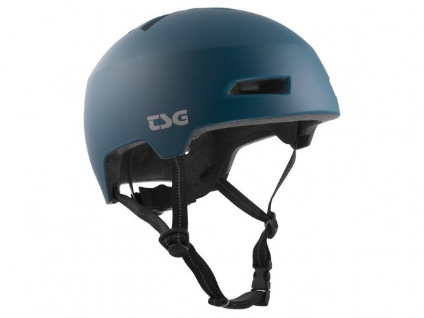 "TSG ""Status Solid Colors"" Helm - Satin Night Teal"