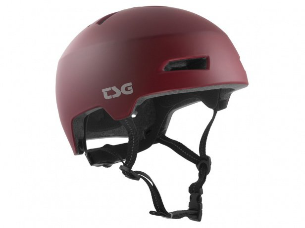 "TSG ""Status Solid Colors"" Helm - Satin Oxblood"