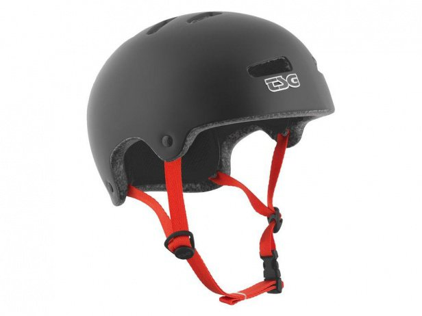"TSG ""Superlight Solid Colors"" Helm - Satin Black"