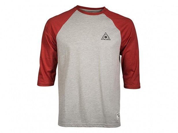 "TSG ""Triad Raglan"" 3/4 Longsleeve - Grey/Red"