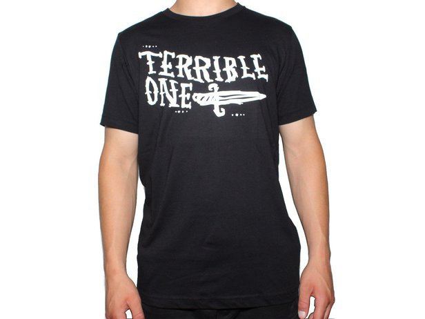 "Terrible One ""Knife"" T-Shirt - Black/White"