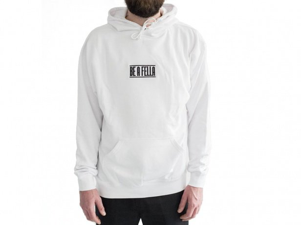 "The Fella BMX ""Be A Fella"" Hooded Pullover"