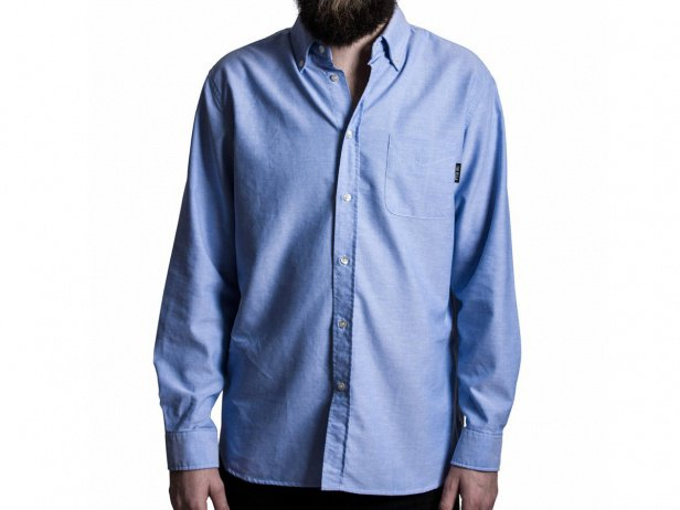 "The Fella BMX ""Oxford"" Shirt - Blue"