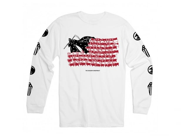 "The Shadow Conspiracy ""BCWYF"" Longsleeve - White"
