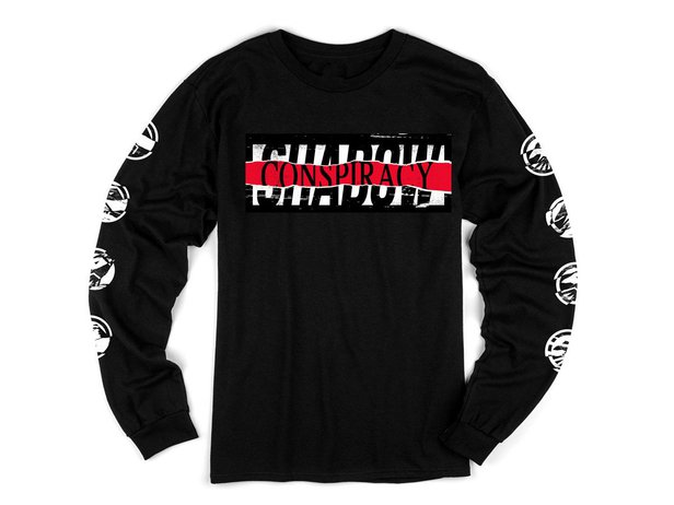 "The Shadow Conspiracy ""Distorted"" Longsleeve - Black"