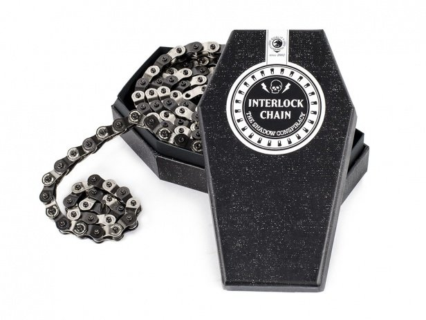 "The Shadow Conspiracy ""Interlock V2"" Halflink Kette - Silver/Black"