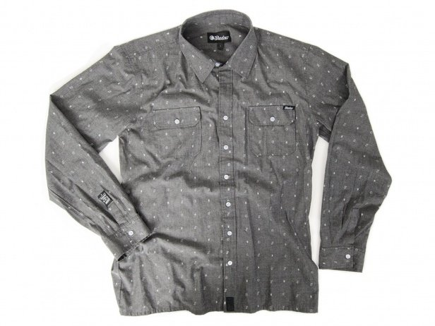 "The Shadow Conspiracy ""Palladium Button Up"" Shirt - Grey"