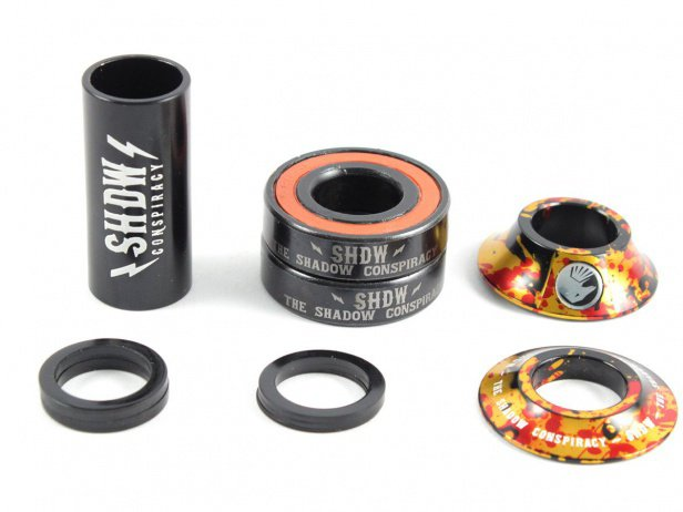 "The Shadow Conspiracy ""Stacked Mid BB"" Bottom Bracket - Ignite"