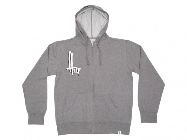 "The Trip ""OG"" Hooded Zipper - Heather Grey"