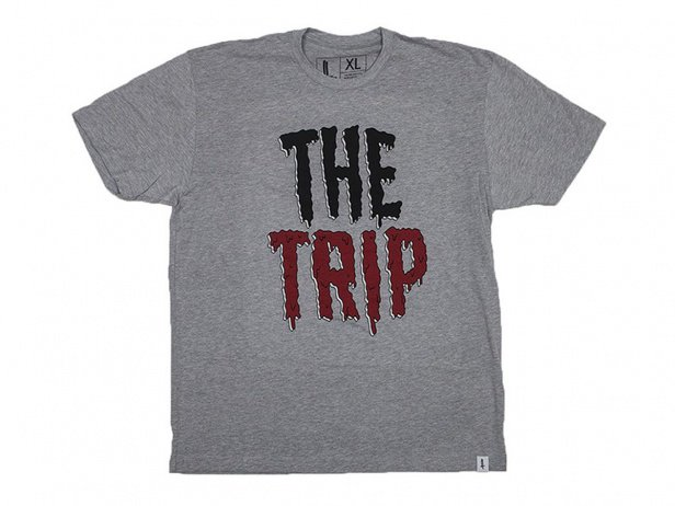 "The Trip ""Slime"" T-Shirt - Grey"