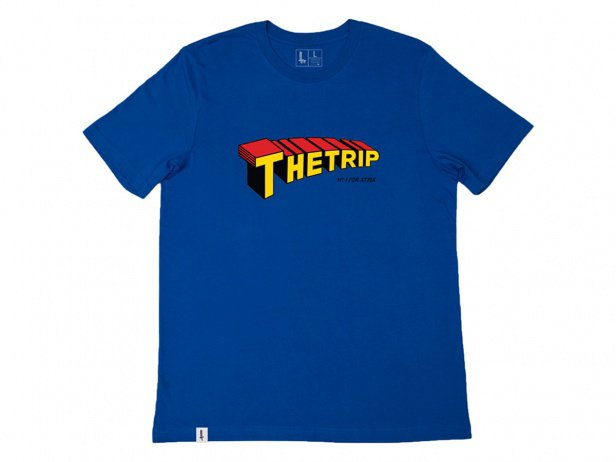 "The Trip ""Superman"" T-Shirt - Blue"
