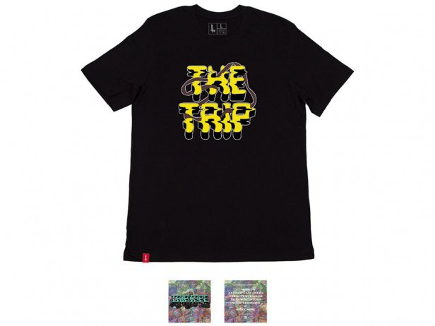 "The Trip ""TripTape"" T-Shirt + DVD - Black"