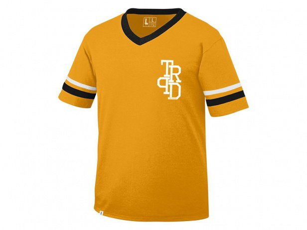 "The Trip ""Varsity Jersey"" T-Shirt - Yellow"