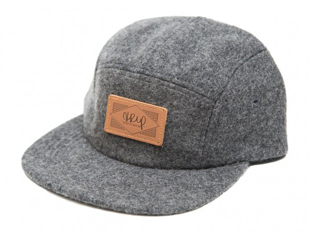 "The Trip ""Wool Leather Patch"" Kappe"