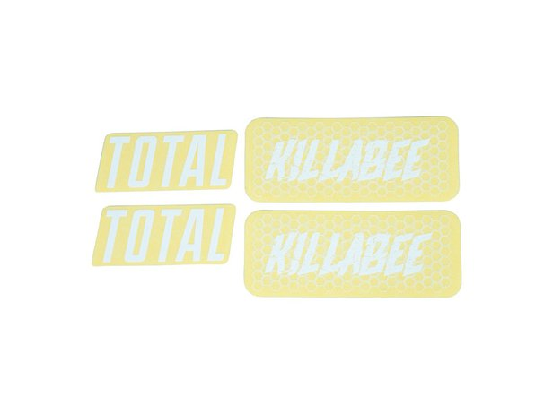 "Total BMX ""Killabee K4"" Frame Stickerset"