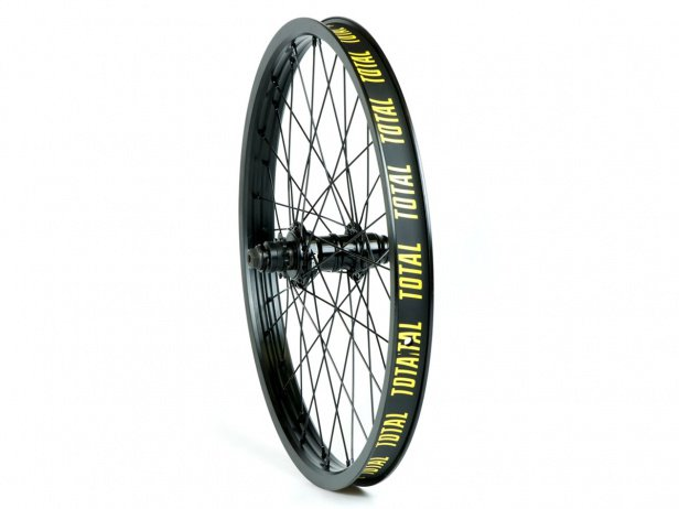 "Total BMX ""Techfire SDS Cassette"" Rear Wheel - Black/Black"