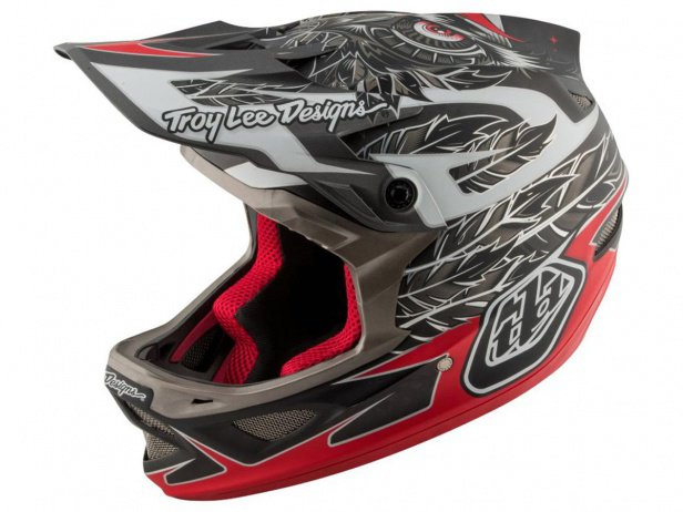 "Troy Lee Designs ""D3"" Fullface Helm - Nightfall Black"