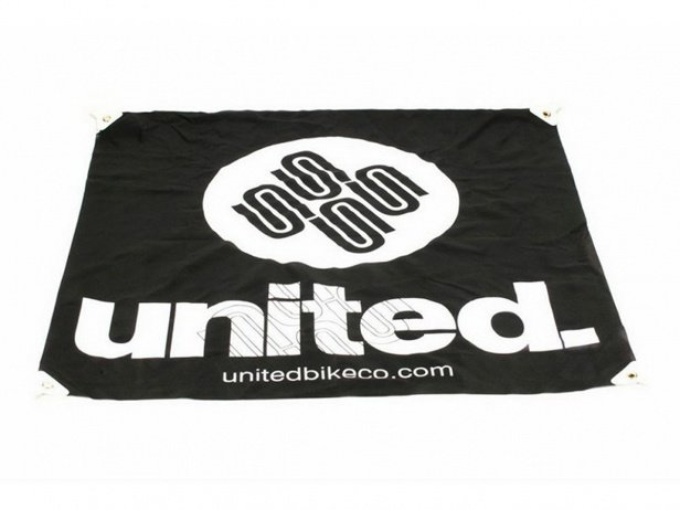 "United Bikes ""Cloth"" Banner"