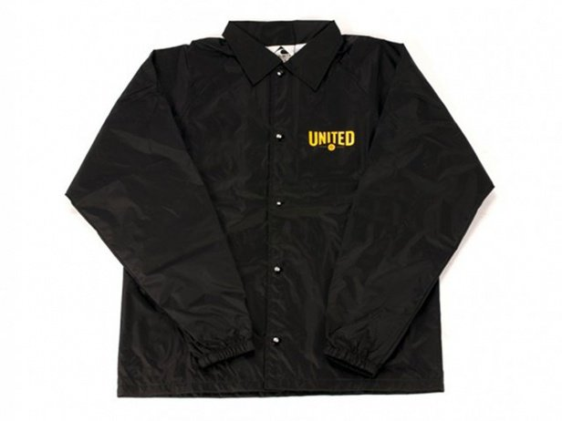 "United Bikes ""Signature"" Windbreaker Jacket - Black"