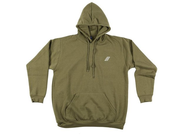 "United Bikes ""UN Logo"" Hooded Pullover - Olive"