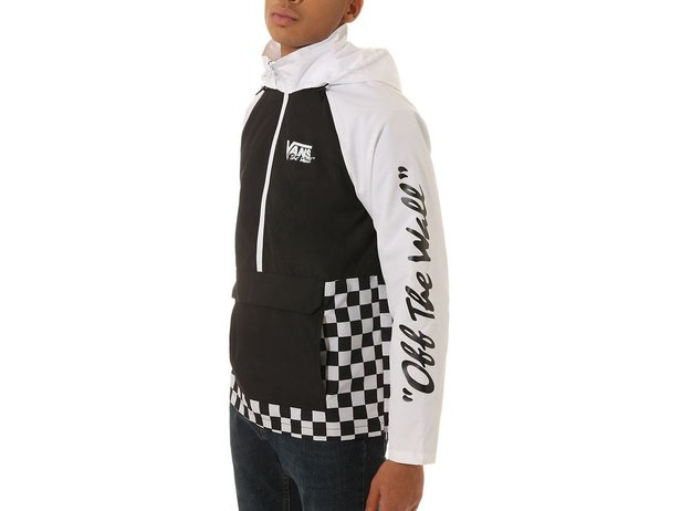 "Vans ""BMX Off The Wall"" Anorak Jacke - Black/White"