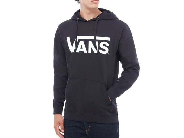 "Vans ""Classic"" Hooded Pullover - Black/White"