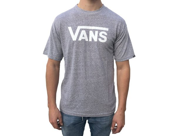 "Vans ""Classic"" T-Shirt - Athletic Heather/White"