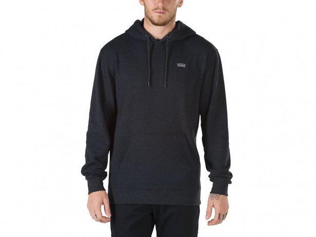 "Vans ""Core Basics"" Hooded Pullover - Heather Black"