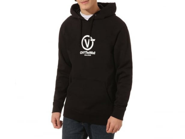 "Vans ""Distorted Performance"" Hooded Pullover - Black"