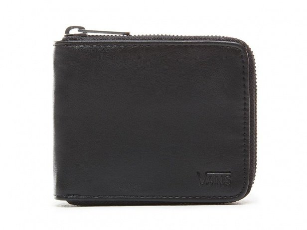 "Vans ""Drop V Zip"" Wallet - Black"