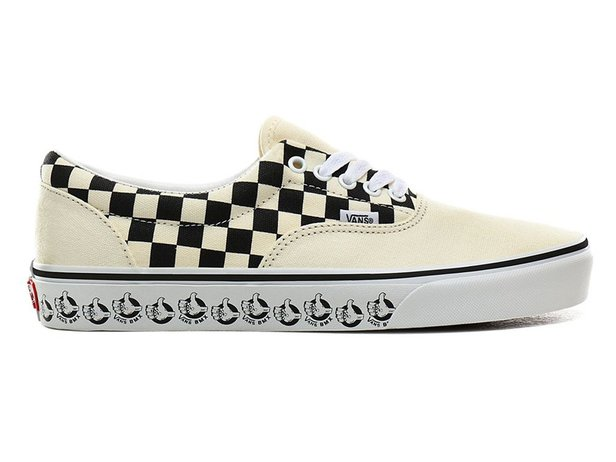 "Vans ""Era"" Shoes - (Vans BMX) White/Black"