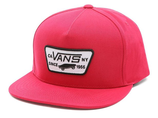 "Vans ""Full Patch Snapback"" Kappe - Jazzy"
