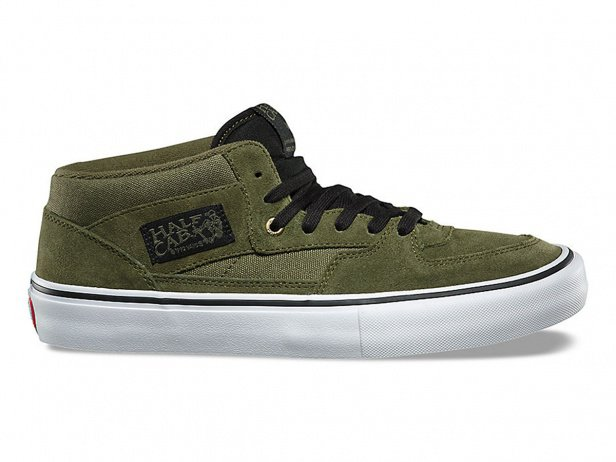 "Vans ""Half Cab Pro"" Shoes - Winter Moss/Black"