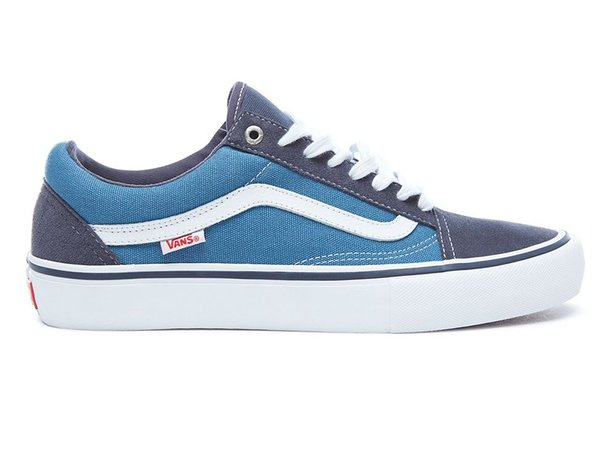 "Vans ""Old Skool Pro"" Shoes - Navy/STV Navy/White"