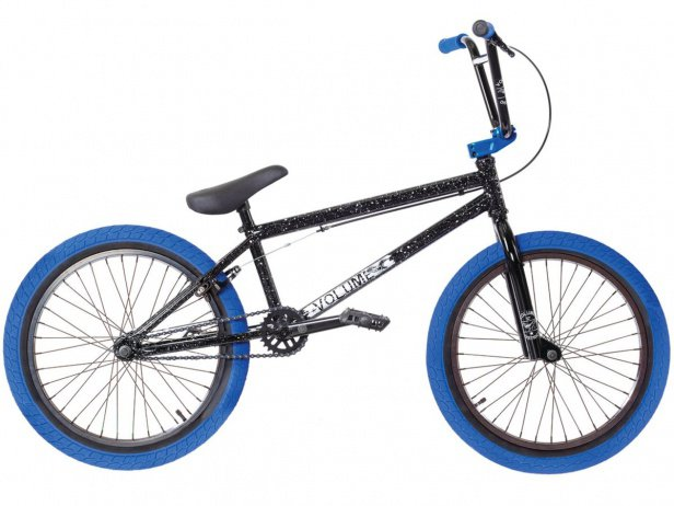 "Volume Bikes ""District"" 2018 BMX Bike - Black/Blue"