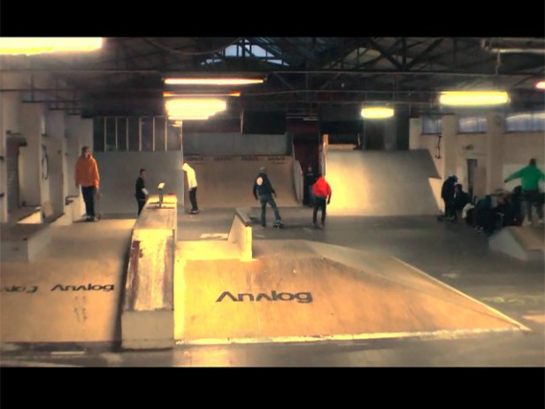 BMX in der BOOST skatehall