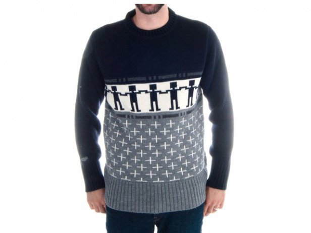 "Chico Clothing ""Knitter Do Not The Wave"" Pullover"