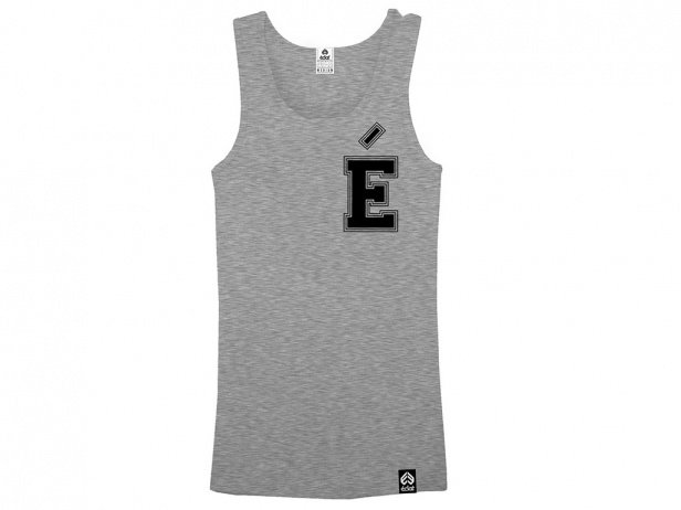 "eclat ""Capital"" Tank Top - Grey"