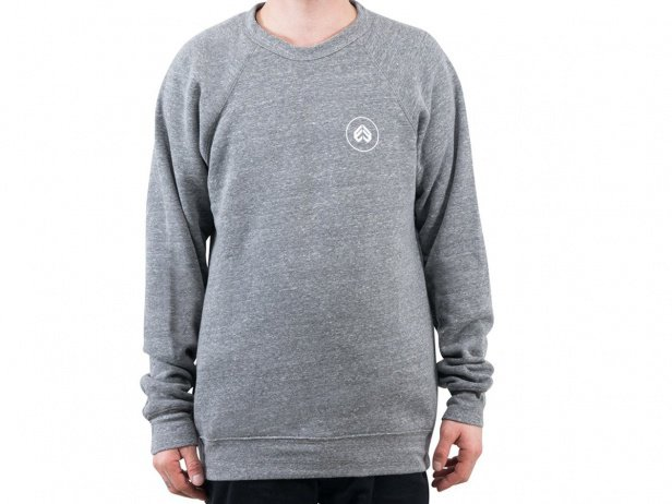 "eclat ""Circle Icon"" Pullover - Heather Grey"