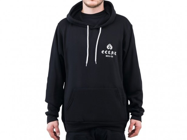 "eclat ""Till Death"" Hooded Pullover - Black"