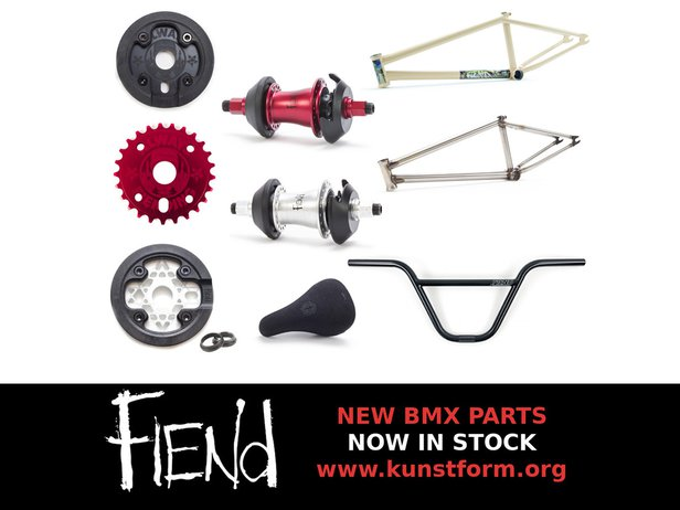 New Fiend 2019 BMX Parts - arrived!