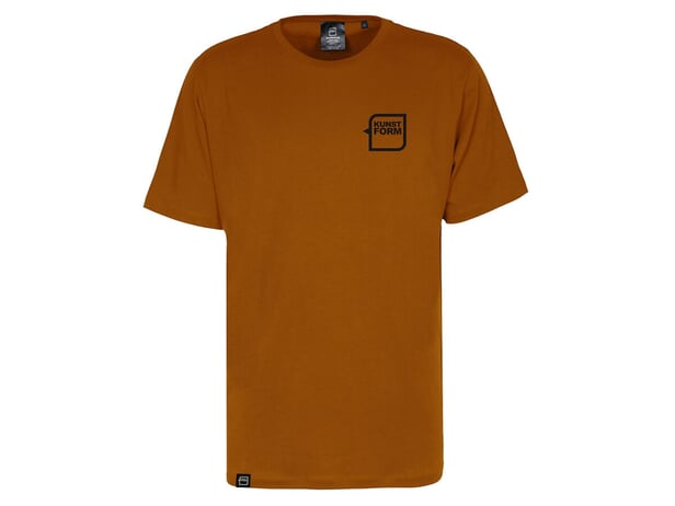 "kunstform ""Breast Logo"" T-Shirt - Rust"