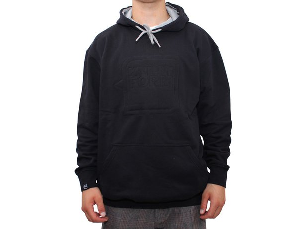 "kunstform ""Embroidery"" Hooded Pullover"