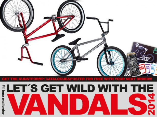 Stereo Bikes, The Vandals, Rocker Mini BMX- 2014 BMX bikes