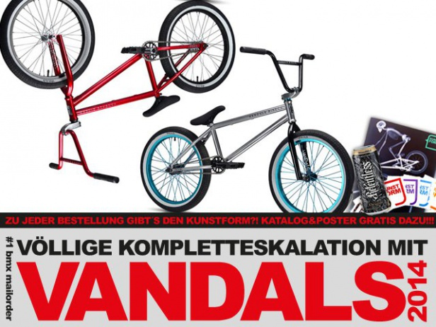 Stereo Bikes, The Vandals, Rocker Mini BMX- 2014 BMX Räder