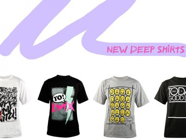 Deep BMX - new shirts