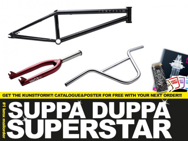 New BMX bikes from Academy & fresh parts from Superstar
